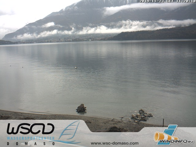 Webcam Comersee - Lago di Como in Domaso