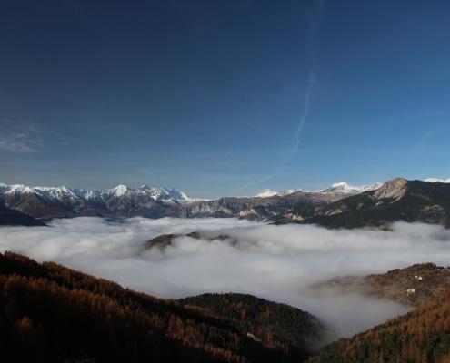 Nebelbildung im Herbst - Walchensee Nebelsession